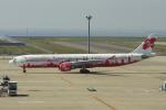 yabyanさんが、中部国際空港で撮影したエアアジア・エックス A330-301の航空フォト(飛行機 写真・画像)