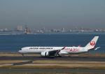 だだちゃ豆さんが、羽田空港で撮影した日本航空 A350-941XWBの航空フォト(写真)