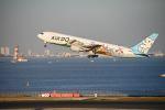 だだちゃ豆さんが、羽田空港で撮影したAIR DO 767-381の航空フォト(飛行機 写真・画像)