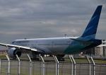 だだちゃ豆さんが、羽田空港で撮影したガルーダ・インドネシア航空 777-3U3/ERの航空フォト(写真)