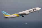 TIA spotterさんが、羽田空港で撮影したAIR DO 767-381の航空フォト(写真)