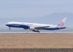 あおいそらさんが、関西国際空港で撮影したチャイナエアライン 777-309/ERの航空フォト(写真)