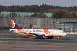KAZFLYERさんが、成田国際空港で撮影したマカオ航空 A320-232の航空フォト(飛行機 写真・画像)