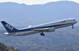 鉄バスさんが、広島空港で撮影した全日空 767-381/ERの航空フォト(飛行機 写真・画像)
