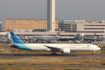 ハム太郎。さんが、羽田空港で撮影したガルーダ・インドネシア航空 777-3U3/ERの航空フォト(写真)