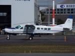 otromarkさんが、八尾空港で撮影した共立航空撮影 208B Grand Caravanの航空フォト(写真)