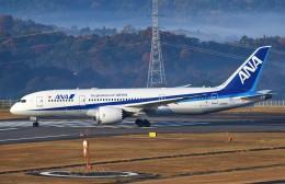鉄バスさんが、広島空港で撮影した全日空 787-8 Dreamlinerの航空フォト(飛行機 写真・画像)