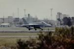 ヒロリンさんが、厚木飛行場で撮影したアメリカ海軍 F/A-18F Super Hornetの航空フォト(写真)