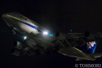 遠森一郎さんが、福岡空港で撮影した全日空 747-481(D)の航空フォト(写真)