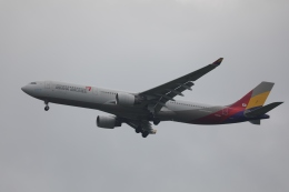OS52さんが、成田国際空港で撮影したアシアナ航空 A330-323Xの航空フォト(飛行機 写真・画像)