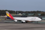 KAZFLYERさんが、成田国際空港で撮影したアシアナ航空 747-48EM(BDSF)の航空フォト(飛行機 写真・画像)