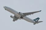 kuro2059さんが、香港国際空港で撮影したキャセイパシフィック航空 A330-343Xの航空フォト(写真)