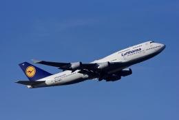 Frankspotterさんが、フランクフルト国際空港で撮影したルフトハンザドイツ航空 747-430の航空フォト(飛行機 写真・画像)