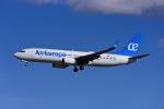 Frankspotterさんが、マドリード・バラハス国際空港で撮影したエア・ヨーロッパ 737-85Pの航空フォト(飛行機 写真・画像)