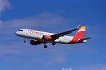 Frankspotterさんが、マドリード・バラハス国際空港で撮影したイベリア・エクスプレス A320-216の航空フォト(飛行機 写真・画像)