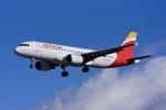 Frankspotterさんが、マドリード・バラハス国際空港で撮影したイベリア航空 A320-214の航空フォト(飛行機 写真・画像)