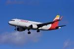 Frankspotterさんが、マドリード・バラハス国際空港で撮影したイベリア航空 A320-216の航空フォト(飛行機 写真・画像)