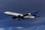 Frankspotterさんが、マドリード・バラハス国際空港で撮影したアルゼンチン航空 A340-313Xの航空フォト(飛行機 写真・画像)