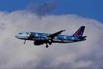 Frankspotterさんが、マドリード・バラハス国際空港で撮影したブリュッセル航空 A320-214の航空フォト(飛行機 写真・画像)