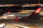 やつはしさんが、羽田空港で撮影したカンタス航空 747-438/ERの航空フォト(写真)