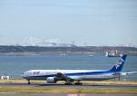 だだちゃ豆さんが、羽田空港で撮影した全日空 777-381の航空フォト(写真)