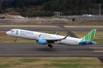 ミンミンさんが、福島空港で撮影したバンブー・エアウェイズ A321-251Nの航空フォト(飛行機 写真・画像)