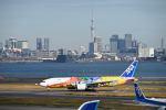 だだちゃ豆さんが、羽田空港で撮影した全日空 777-281/ERの航空フォト(写真)