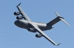 パラノイアさんが、ネリス空軍基地で撮影したアメリカ空軍 C-17A Globemaster IIIの航空フォト(写真)