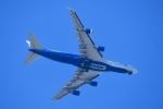 飛行機ゆうちゃんさんが、横田基地で撮影したナショナル・エア・カーゴ 747-428(BCF)の航空フォト(写真)