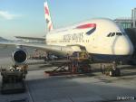 steelers58さんが、香港国際空港で撮影したブリティッシュ・エアウェイズ A380の航空フォト(写真)