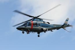 ひらひささんが、津市伊勢湾ヘリポートで撮影した静岡県警察 A109E Powerの航空フォト(飛行機 写真・画像)