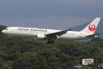 masa707さんが、福岡空港で撮影した日本航空 767-346/ERの航空フォト(写真)