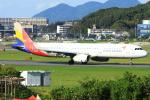 Love Airbus350さんが、福岡空港で撮影したアシアナ航空 A321-231の航空フォト(写真)