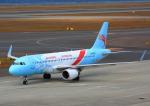 タミーさんが、中部国際空港で撮影した長竜航空 A320-214の航空フォト(写真)