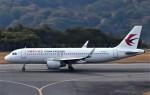 鉄バスさんが、広島空港で撮影した中国東方航空 A320-214の航空フォト(飛行機 写真・画像)