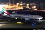 kina309さんが、羽田空港で撮影したエミレーツ航空 777-21H/LRの航空フォト(写真)