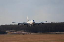 モモさんが、新千歳空港で撮影したタイ国際航空 747-4D7の航空フォト(飛行機 写真・画像)