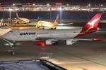 OS52さんが、羽田空港で撮影したカンタス航空 747-438/ERの航空フォト(飛行機 写真・画像)