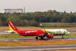 にしやんさんが、成田国際空港で撮影したベトジェットエア A321-271Nの航空フォト(写真)
