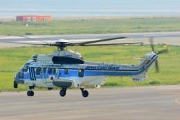 ちっとろむさんが、関西国際空港で撮影した海上保安庁 EC225LP Super Puma Mk2+の航空フォト(飛行機 写真・画像)