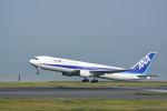どんちんさんが、羽田空港で撮影した全日空 767-381の航空フォト(写真)