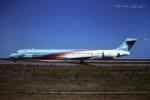 tassさんが、新潟空港で撮影した日本エアシステム MD-90-30の航空フォト(写真)