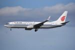 kumagorouさんが、仙台空港で撮影した中国国際航空 737-89Lの航空フォト(飛行機 写真・画像)