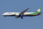 mameshibaさんが、成田国際空港で撮影したエバー航空 787-9の航空フォト(写真)