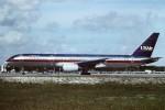 tassさんが、フォートローダーデール・ハリウッド国際空港で撮影したUSエア 757-225の航空フォト(飛行機 写真・画像)