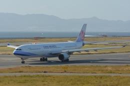 qooさんが、関西国際空港で撮影したチャイナエアライン A330-302の航空フォト(飛行機 写真・画像)