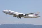 OS52さんが、関西国際空港で撮影したシルクウェイ・ウェスト・エアラインズ 747-4H6F/SCDの航空フォト(飛行機 写真・画像)