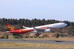 KAZFLYERさんが、成田国際空港で撮影した香港航空 A330-343Xの航空フォト(写真)