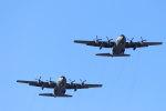 石鎚さんが、名古屋飛行場で撮影した航空自衛隊 C-130H Herculesの航空フォト(写真)