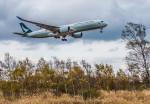Cygnus00さんが、新千歳空港で撮影したキャセイパシフィック航空 A350-941XWBの航空フォト(写真)